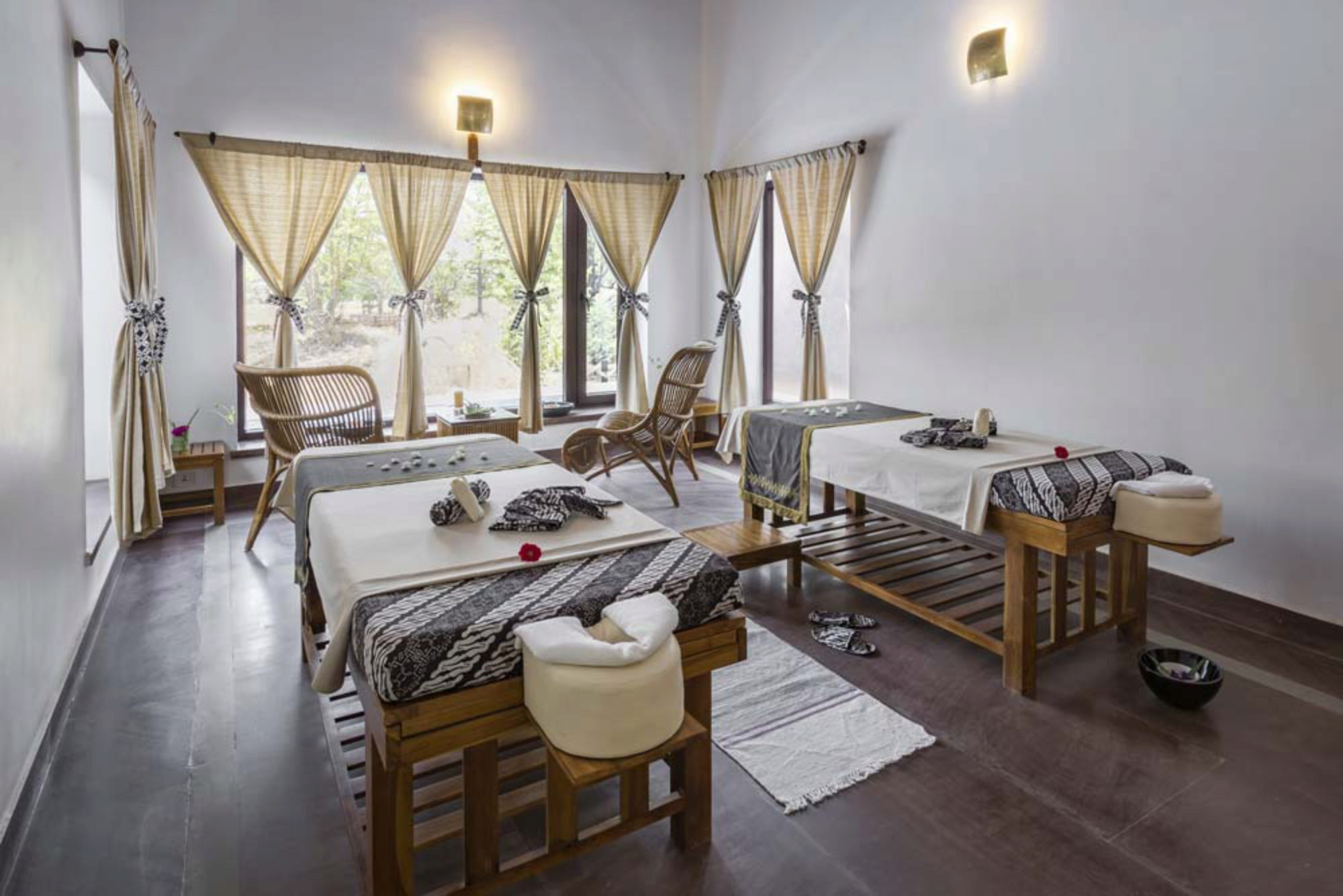 Accommodation at Kanha National Park Resorts