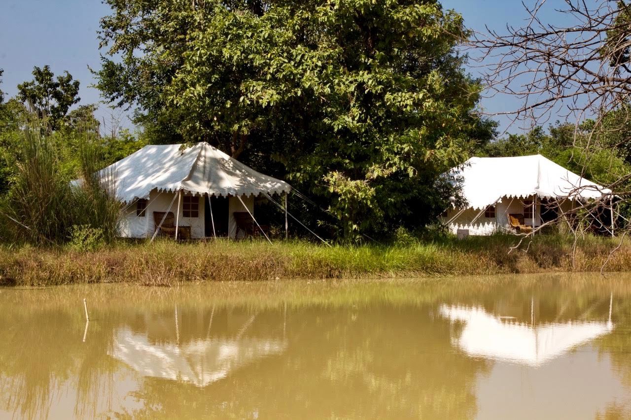 Tented camps in Kanha
